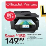officedepot deals on HP OfficeJet Pro 8720