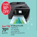 officedepot deals on HP OfficeJet Pro 6978 Wireless Printer
