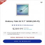 Samsung 9.7-inch Galaxy Tab S2 32GB Deals