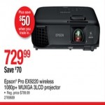 staples deals on Epson Pro EX9220 Wireless 1080p+ WUXGA 3LCD Projector
