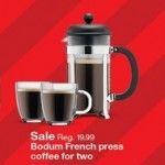 target deals on Bodum French Press Coffee For Two