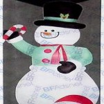 truevalue deals on Gemmy 12-ft. Inflatable Snowman w/Candy Cane