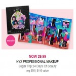 Deals on Nyx Professional Makeup Sugar Trip 24 Days of Beauty