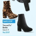 walmart deals on Time and Tru Booties