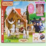 walmart deals on Calico Critters Lakeside Lodge Gift Set