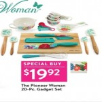 walmart deals on The Pioneer Woman 20 Pc Gadget Set