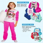 walmart deals on Girls Character 2-pc. Sleepwear