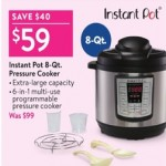 walmart deals on Instant Pot 8‑Qt. Pressure Cooker