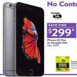 walmart deals on iPhone 6S Plus on Straight Talk