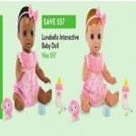 walmart deals on Luvabella Interactive Baby Doll