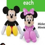 walmart deals on Mickey or Minnie Plush