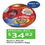 walmart deals on Ryans World Giant Golden Egg