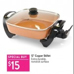 walmart deals on Copper Chef 12-inch Copper Skillet