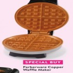 walmart deals on Farberware Copper Waffle Maker