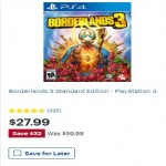 BestBuy.com deals on Borderlands 3 Standard Edition PS4