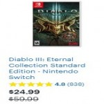 BestBuy.com deals on Diablo III Eternal Collection Standard Edition Nintendo Switch