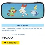 BestBuy.com deals on Hori Pokemon Sword & Shield Hard Pouch for Nintendo Switch