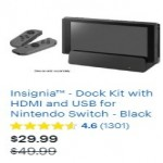 Insignia Dock Kit with HDMI and USB for Nintendo Switch Deals