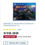 MediEvil Standard Edition PlayStation 4 Deals