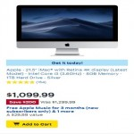 BestBuy.com deals on Apple 21.5-inch iMac with Retina 4K display w/Intel Core i3 3.6GHz
