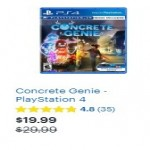 BestBuy.com deals on Concrete Genie PlayStation 4