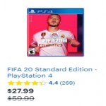 BestBuy.com deals on FIFA 20 Standard Edition PlayStation 4