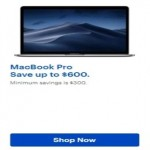 BestBuy.com deals on Save up to $600 MacBook Pro