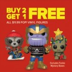GameStop.com deals on Buy 2 Funko Pop! Vinyl Figures & Get 1
