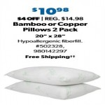 SamsClub.com deals on Bamboo-Polyfill Pillows Jumbo (2-pk.)