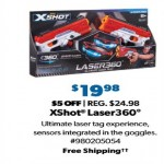 SamsClub.com deals on X-Shot Laser360 Double Laser Blaster Set (2-pk.)