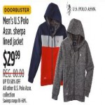 U.S Polo Assn. Mens Sherpa Lined Jacket And Collection Deals