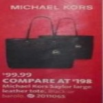Deals on Michael Kors Saylor Large Leather Tote