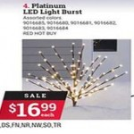 acehardware deals on Celebrations Platinum LED Shimmer Sphere