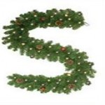 acehardware deals on Celebrations Pre-Lit Douglas 6-ft. Garland