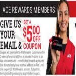 acehardware deals on Get $5 Off coupon for Ace Rewards members with Email Sign Up
