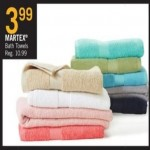 Deals on MARTEX Bath Towels