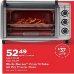 bedbathandbeyond deals on Black & Decker Crisp N Bake Air Fry Toaster Oven