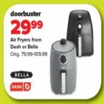 Deals on Air Fryers from Dash or Bella