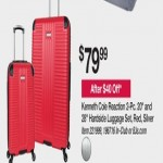 Deals on Kenneth Cole Reaction 2-pc. 20-in. & 28-in. Hardside Luggage Set