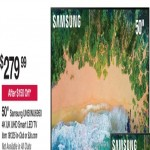bjs deals on Samsung UN50NU6950 50-in 4K UHD Smart LED TV