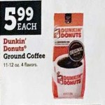 Deals on Dunkin Donuts Colombian Ground Coffee