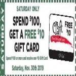 craftwarehouse deals on Free $10 Craft Warehouse Gift Card w/$100+ order