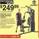 Deals on Marcy MWM-990 150-lb. Home Training System