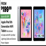 Apple iPad 5th Generation Wi-Fi Tablet Deals