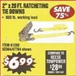 Haul Master Ratcheting 2-in x 20-ft. Tie Down Deals