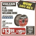 Vulcan 2-lb. Flux Core Welding Wire Deals