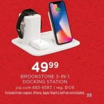 jcpenney deals on Brookstone 3-in-1 Apple Charging Dock