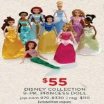Disney Princess Doll 9-pc. Playset Deals