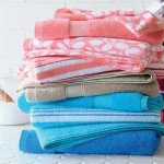 JCPenney Home Mix & Match Leaf Bath Towel Deals