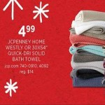 JCPenney Home Westly Ogee Geometric Bath Towel Deals
